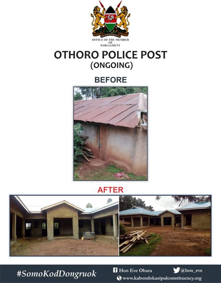 CONSTRUCTION OF OTHORO POLICE STATION